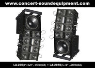 "Dual 5"" 8ohm 230W Mini Line Array Speaker For Fixed Installation In Conference, Pub, Auditoria"